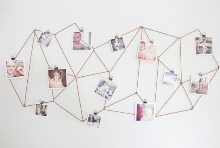 Geometric Photo Display