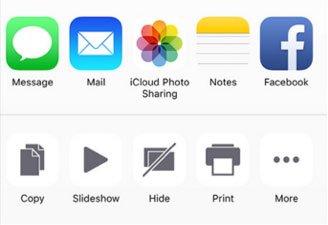 ? iPhone partagé iCloud