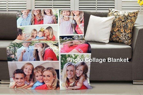 Одеяло для фотоколлажа