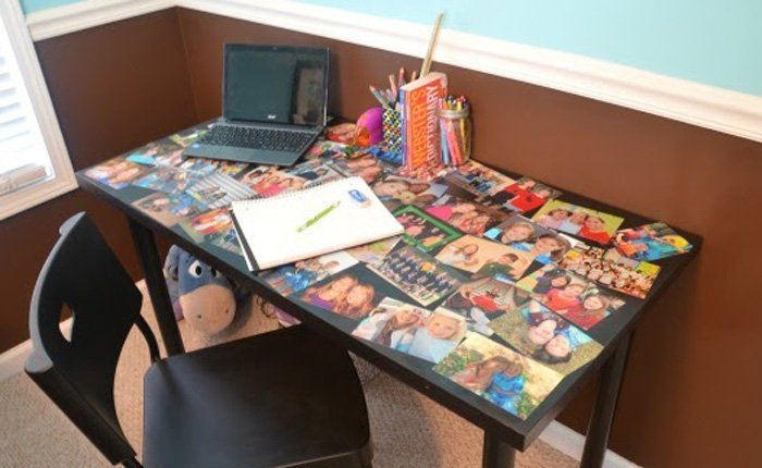 Picture Photo Collage Table