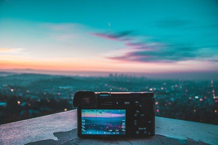 Sortie caméra