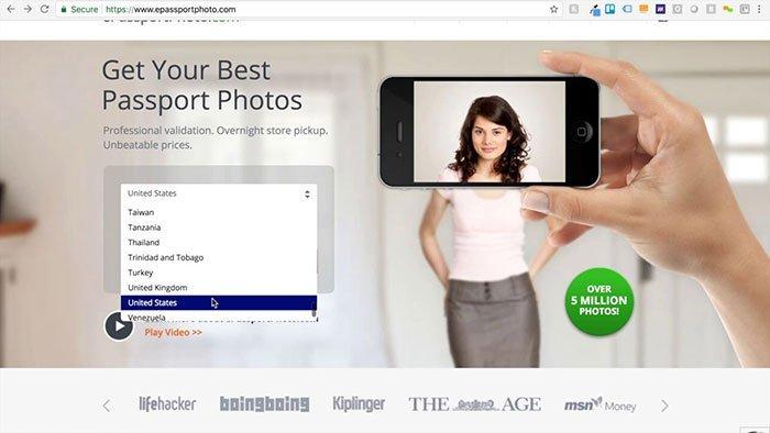 online passkonverterer - Epassportphoto