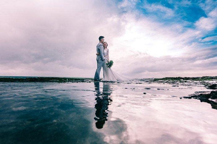 Πρωτότυπη φωτογραφία γάμου