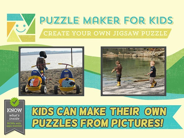 Puzzle Maker for Kids