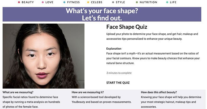 What is My Face Shape and Upload Photo to Detect