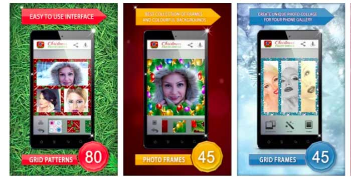 Christmas Photo Editor for Android
