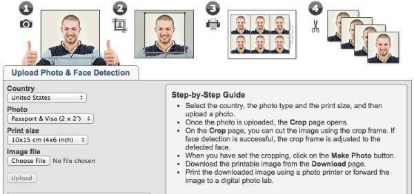 online passport converter - Idphoto4you