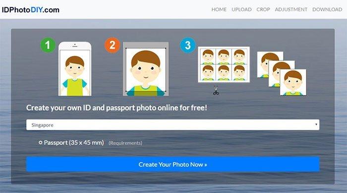 online passkonverterer - IDPhotoDIY