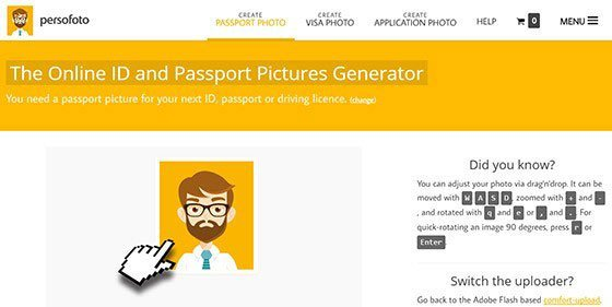 online passkonverterer - Persofoto