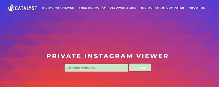Se private Instagram-bilder med privat bildeviser
