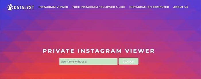Instagram Photo Viewer - Privat fotoviser