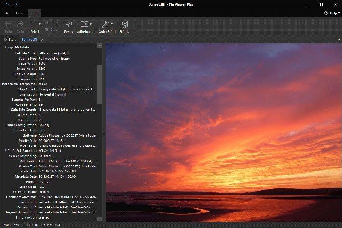 Se TIFF-filer med File Viewer Plus