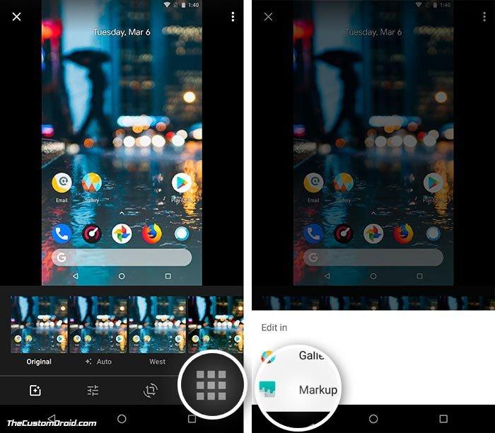 Приложение для разметки Android