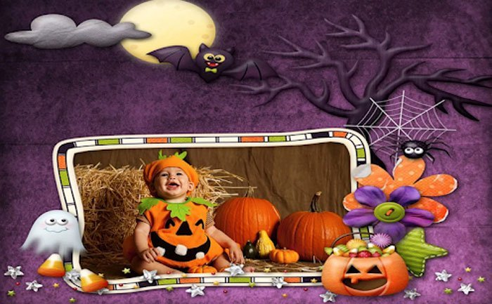 Halloween Photo Editor App