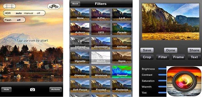 كاميرا Pro HDR