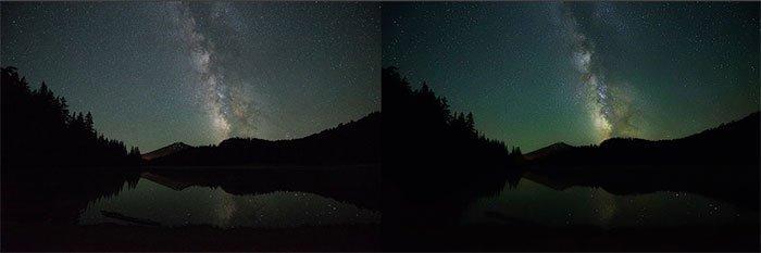 ピクセル化された画像を暗くする