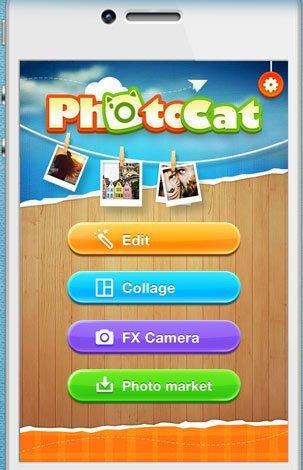 Fotobewerkingsapps bijwerken - Photocat