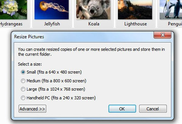 Resize Photos Powertoy