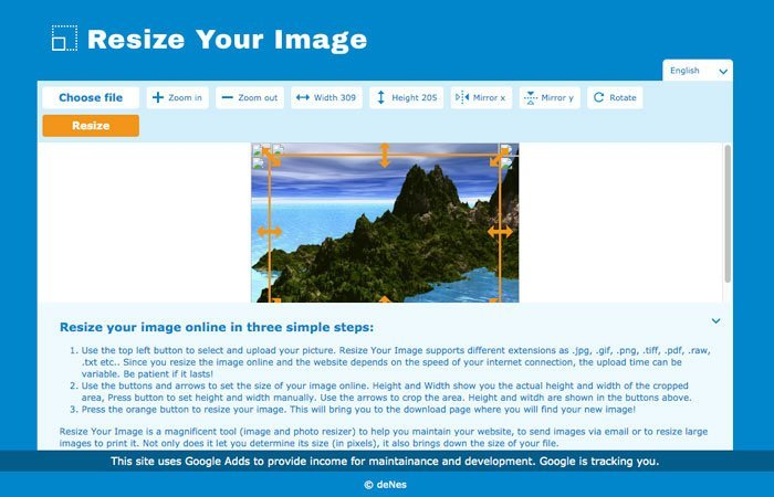 Resize Your Image