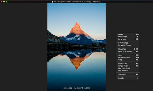 Speichern Sie JPEG als Viewer