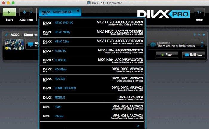 DivX Pro Player