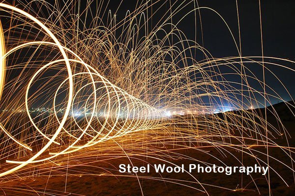 Steel Wool Photography Banner