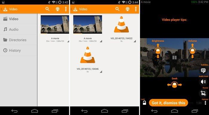 VLC til Android