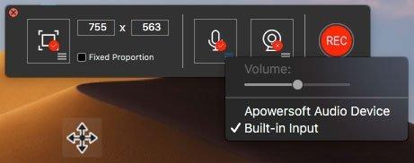 Grabar captura de archivos de audio
