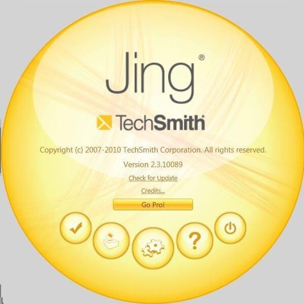 Jing Free屏幕錄像機