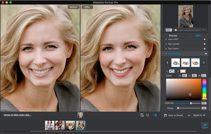 Maquillage Portrait Pro