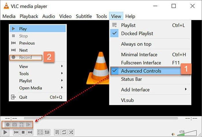 VLC捕獲控制