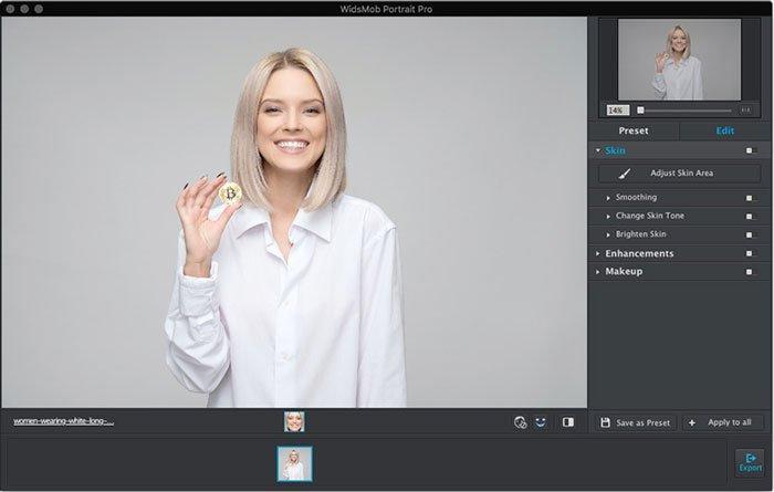 Adicionar Portrait Image Pro