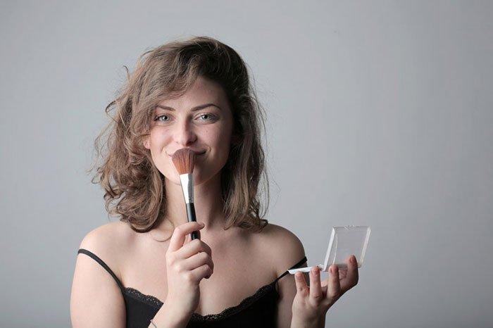 Apple πορτρέτο μακιγιάζ