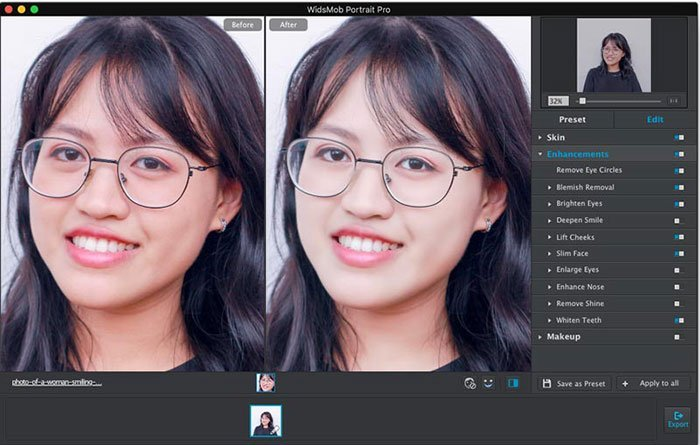 Portrait Enhancement Pro