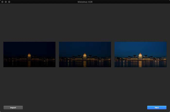 Add Images HDR