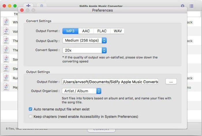 Sidify Streaming Audio Converter