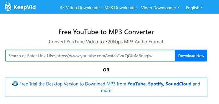 KeepVid MP3
