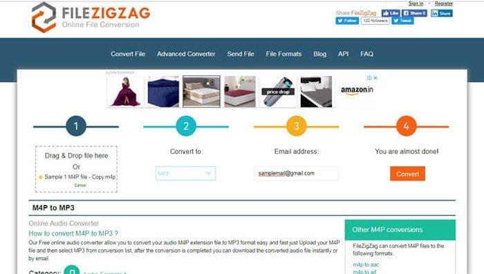 M4P Converter Online FileZigZag