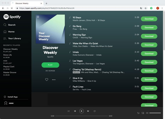 Spotify e Deezer Music Downloader