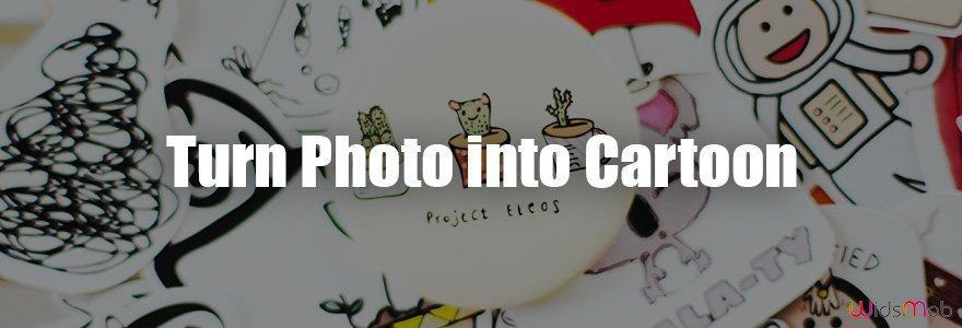 Verander foto in cartoon