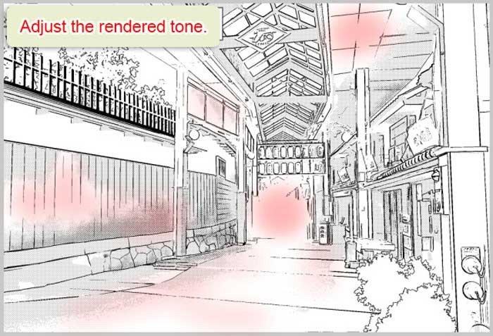 Ajuste a página para colorir convertida no Clip Studio Paint