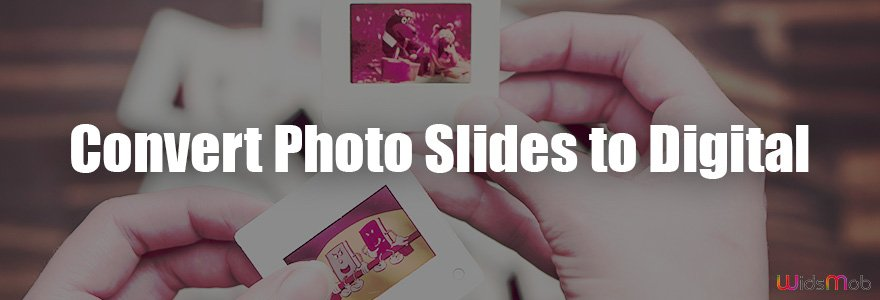 Fotoğraf Slaytlarını Dijitale Dönüştür