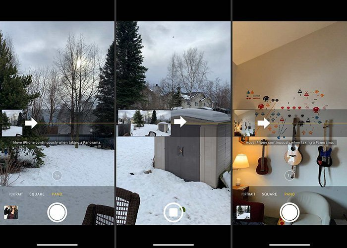 Panorama Camera App - iPhone Camera App