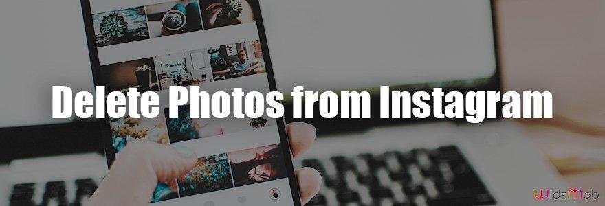 Slet fotos fra Instagram