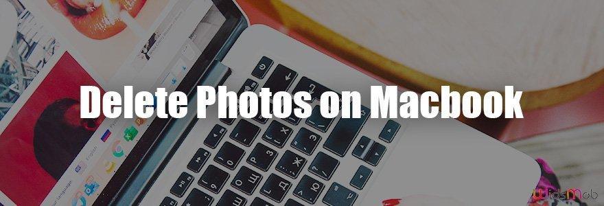 MacBook'ta Fotoğrafları Sil