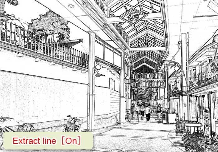 Extrair linha no Clip Studio Paint