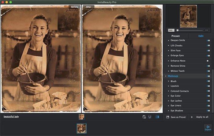 Restauração de fotos antigas com Portrait Pro