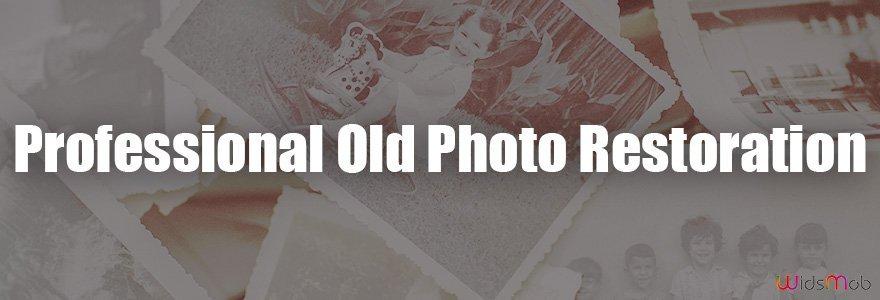 Restauração de fotos antigas profissionais