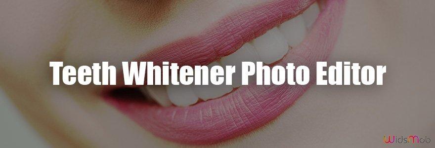 مبيض الأسنان محرر الصور