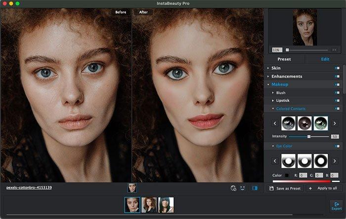 Makijaż portretowy z WidsMob Portrait Pro